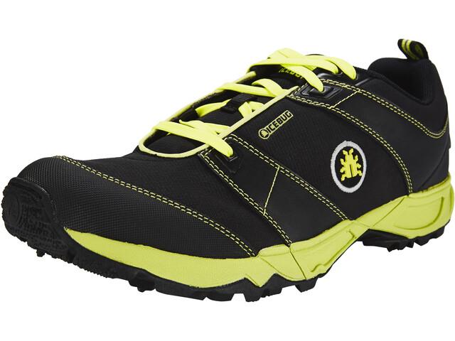 Icebug Pytho3 BUGrip Shoes Men Black/Poison